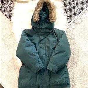 L.L Bean green kid jacket